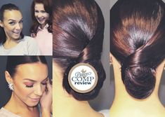 Sleek Low Bun With A Swirl Hairstyle Tutorial - http://dancecompreview.com/sleek-low-bun-with-a-swirl-hairstyle-tutorial/ #dcr #dancecompreview - Everything On Ballroom Dancing