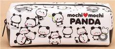 white panda animal pencil case from Japan