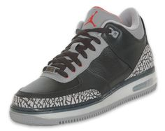 a107703b Release Reminder: Air Jordan Force Fusion 3 - Black / Varsity Red / Cement  At first glance, it is easy to mistake this hybrid model for one of the  most ...