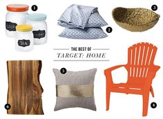 Target's Threshold line has great home accessories on a budget.