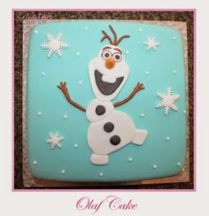 Olaf Cake Frozen Birthday Party, Birthday Cake, Birthday Parties, Olaf Cake, Snowman, Snoopy, Cakes, Disney Characters, Anniversary Parties