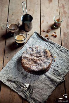#Lemon almond sponge #cake. Explore more tasty spring recipes in #sisterMAG n°7. Photo: Claudia Gödke