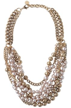 Stella & Dot Lucia Necklace- I am officially a pearl lover! The colors on this are so warm and rich, so classy!