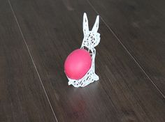 Easter Bunny 3d printed Home decor Dining