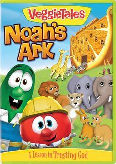 VeggieTales Noah's Ark DVD Review | Perfect for Easter SavingSaidSimply.com (sponsored)