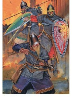 Armies of Medieval Russia Facing the Mongols, early C. Medieval Knight, Medieval Armor, Medieval Fantasy, European History, Ancient History, Military Art, Military History, High Middle Ages, Armadura Medieval