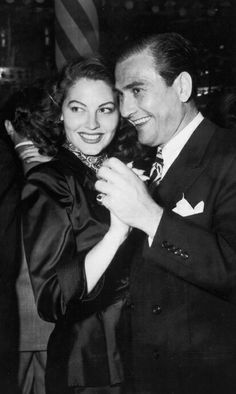 Ava Gardner and Artie Shaw