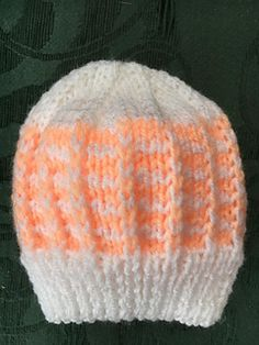 Ravelry: Duet Baby Hat pattern by marianna mel Crochet Baby Hats Free Pattern, Baby Hat Patterns, Baby Hats Knitting, Baby Knitting Patterns, Free Knitting, Preemie Babies, Preemies, Premature Baby, Knitted Beanies