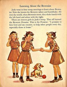 The Brownie Promise Vintage Children's Books, Vintage Girls, Sweet Memories, Childhood Memories, Thinking Day, Girl Scout Cookies, Girl Guides, The Good Old Days, Cosplay