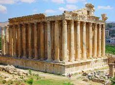 Temple of Jupiter Baalbek, Lebanon