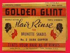 Hair Rinse for brunette shades