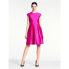 Kate Spade vail dress-Vivacious Pink
