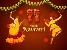 : Write name on Happy Birthday wishes & wedding anniversary cake, festival day,whatsapp dp,i love you quotes,friendship greeting card with your name. Chaitra Navratri, Navratri Images, Navratri Festival, Navratri Greetings, Happy Navratri Wishes, Upcoming Festivals, Hindu Festivals, Rotterdam, Banners