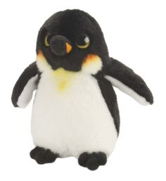 Plush Emperor Penguin Wild Watcher 7 Inch Stuffed Penguin By Wild Republic at Stuffed Safari