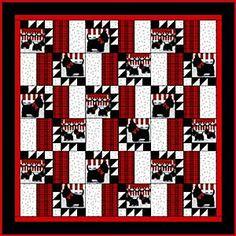 World's Fair Puzzle quilt top