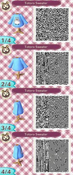QR code - totoro sweater
