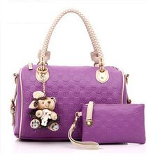 Purple - 48 USD Shoulder Bag, Purple, Bags, Fashion, Handbags, Moda, Dime Bags, Shoulder Bags, Fasion