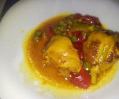 Pollo con verduritas de Cristina Menendez. Con Chef Plus Induction.