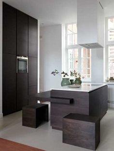 luxury kitchen made by bruut. design