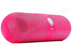 enceinte sans fil beats pill neon bleu mister blue. Black Bedroom Furniture Sets. Home Design Ideas