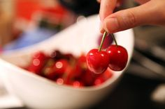Bachelorette Party Games That Aren't Lame: The Cherry Game: Place in front of each person a maraschino cherry in a bowl. The race will be to see who can eat their cherry first. They cannot use their hands. Before they start, fill each bowl with whipped cream.