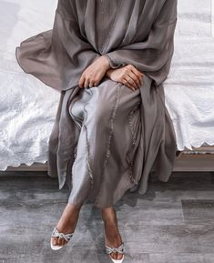 Abaya Fashion, Muslim Fashion, Modest Fashion, Modest Dresses, Modest Outfits, Modest Clothing, Niqab, Wedding Abaya, Dress Wedding