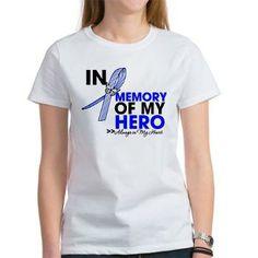 ALS Disease In Memory Hero shirts, apparel and gifts #ALS #ALSdisease #ALSAwareness