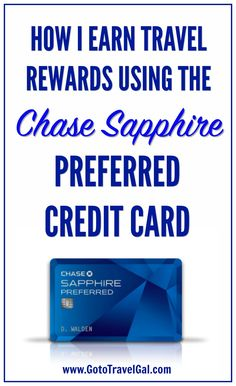How Chase Sapphire Preferred Helps My Family Fly Free via Credit Card Hacks, Credit Card Points, Cheap Travel, Budget Travel, Travel Tips, Travel Stuff, Chase Credit, Best Travel Credit Cards, Travel Rewards
