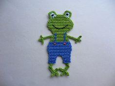 Crochet Frog, Crochet Car, Crochet Motif, Crochet Designs, Crochet Flowers, Crochet Toys, Crochet Patterns, Halloween Toys, Halloween Crochet