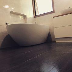 Williamstown bathroom renovation #bathroom #renovation #freestandingbath Bathroom Renovations Melbourne, Pergola, Bathtub, Building, Standing Bath, Bathtubs, Outdoor Pergola, Bath Tube, Buildings