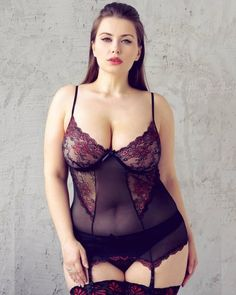 Different Types of Lingerie For Curvy Women - Plus Size Fashion Trends Plus Size Corset, Plus Size Lingerie, Sexy Lingerie, Molliges Model, Girl Model, Photos Free, Botas Sexy, Look Plus Size, Plus Size Intimates