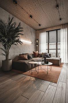 Home Interior Design, Interior Architecture, Apartment Interior, Home And Living, Living Room Decor, House Design, Decoration, Home Decor, Behance
