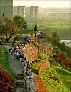 Kalemegdan Fortress in Belgrade Serbia  (via)