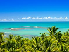 """Why we love it: Trancoso is arguably Brazil's best """"undiscovered"""" beach town, and Praia do Espelho is its crown jewel. At low tide, the aquamarine water helps form a series of shallow tide pools."""