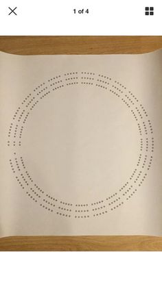 Large round shaped cribbage board hole pattern paper template. Measures 24 inches x 24 inches. Round hole pattern is approx. 19 inches across. Pattern is a 3 track style. Thumb tack or tape cribbage board hole pattern paper template on a board of your choosing. Gently punch mark holes.