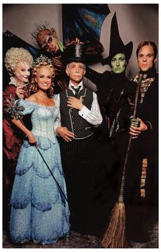 Wicked Cast Idina Menzel Broadway Musical Poster 11x17