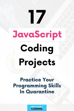 17 Fun JavaScript Coding Projects for Your Portfolio 17 Fun JavaScript Coding Projects for Your Portfolio,JavaScript Programming So you're learning JavaScript and front end web development, but you want to start building practical projects. Learn Programming, Computer Programming, Programming Humor, Computer Science Projects, Learn Computer Coding, Coding For Beginners, Web Development Projects, Learning Web, Coding Languages