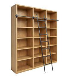 Camus Bibliothèque en bois avec son échelle Aménagement Appartement, Meuble  Design, Mobilier De Salon 1f9923b51ee8