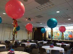 Tassel Balloons www.idealpartydecorators.com