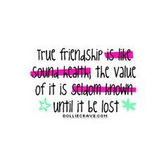 true value of friendship
