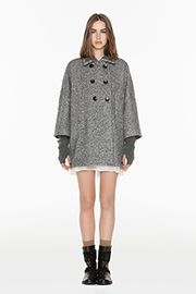 TWIN-SET Simona Barbieri - Cappotto Panno - Acquista online su twin-set.it