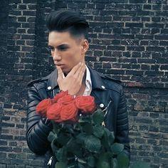 Please forgive me babe.. #roses#cute#cutenessoverload#perfect#hair#bikerjacket#inlove#with#u#love#hot#sexy#beautiful#boygoals#dreamboy#boyfriendgoals#boyfriendmaterial#selfie#myboy#boyfriend#gorgeous#boystyle#modelboy#hazel#eyes#white#clean#tanned#skin#loveu❤