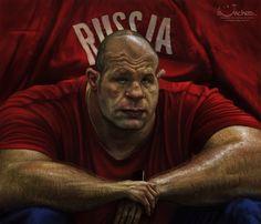 Fedor Emelianenko by Alex Novoseltsev, via Behance
