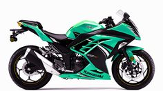 kawasaki ninja 300 green                                                                                                                                                                                 More