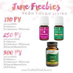 Young Living June 2015 Promotion! Tammy Bennett Independent distributor: 2428551
