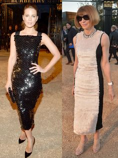 Kate Beckinsale e Anna Wintour - Burberry