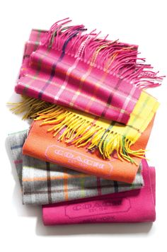 Scarves from Coach