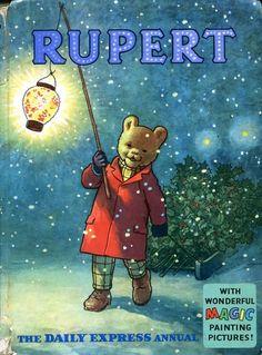 Rupert Bear 1966 Annual. Illustration by Alfred Bestall