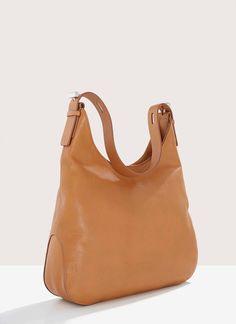 9d2522aca Bolso hobo en piel anilina - Maxi bolsos   Adolfo Dominguez shop online