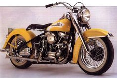 1956 Harley Davidson FLH Classic Motorcycle Pictures